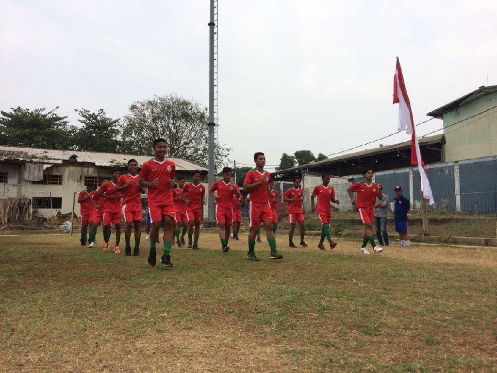 Tim Pelajar U-16 Bersiap Hadapi Gothia Cup di China