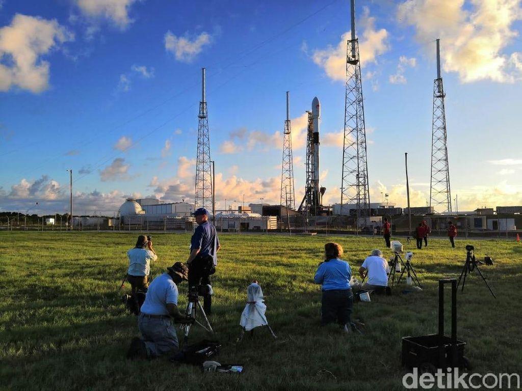 Satelit Merah Putih Ditargetkan Beroperasi 16 September