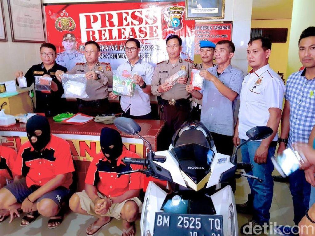 Polisi Bekuk 3 Pengedar Narkoba, 1,2 Kg Sabu Diamankan