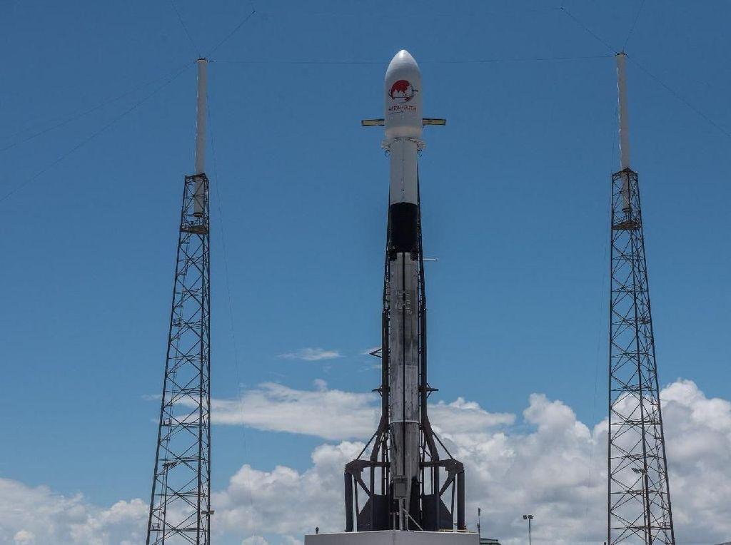 Ini Kecanggihan Roket Falcon 9 Pengusung Satelit Merah Putih
