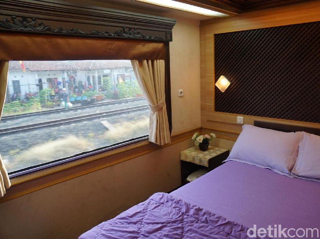 Foto: Kereta Wisata Mewah yang Dinaiki Jokowi, Seperti Apa?