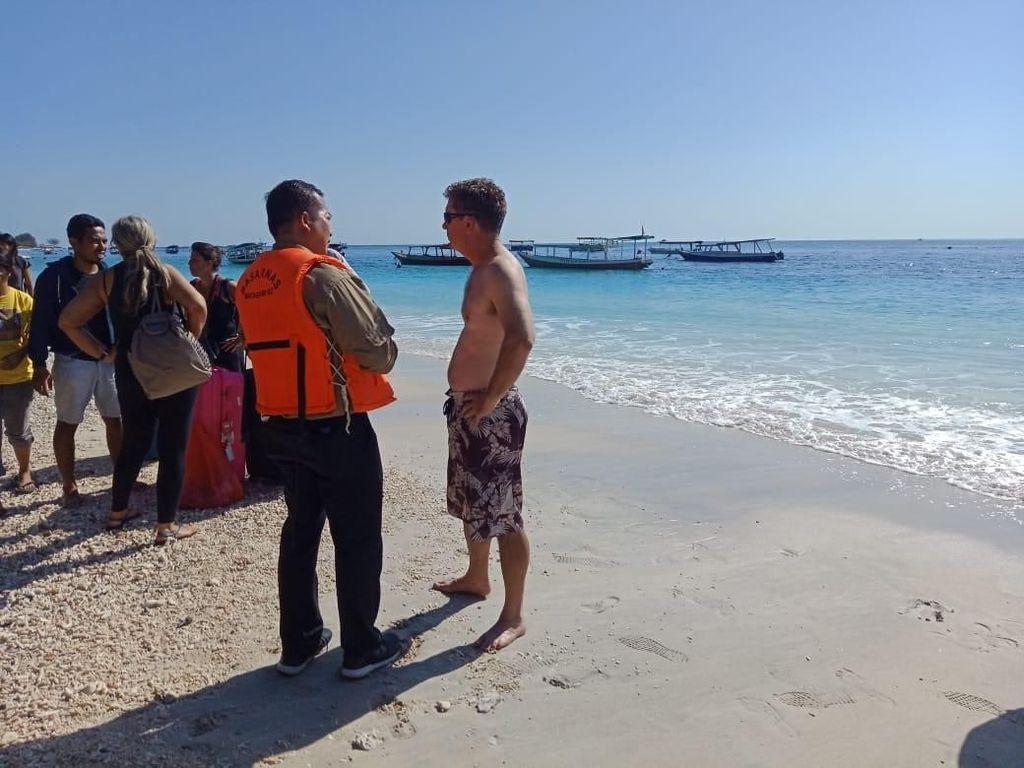 Kemlu Bantu Evakuasi Turis di 3 Gili Lombok