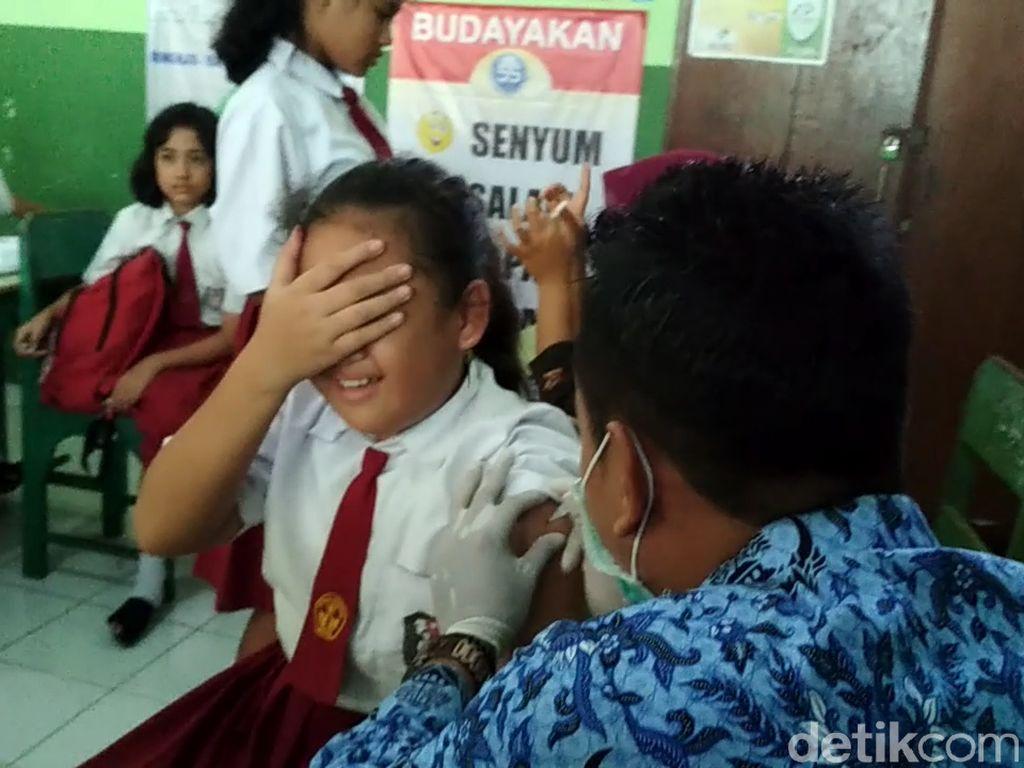 Capaian Imunisasi MR di Indonesia Hanya 60 Persen dari Target 95 Persen