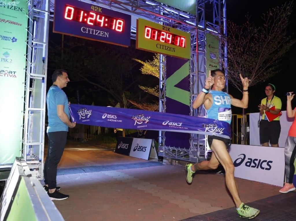 Serunya Lomba Maraton Beregu Akhir Pekan Kemarin, Ini Hasilnya