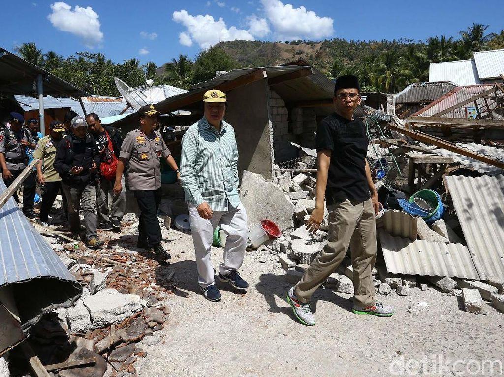 Tahir Foundation Bantu Korban Gempa Lombok