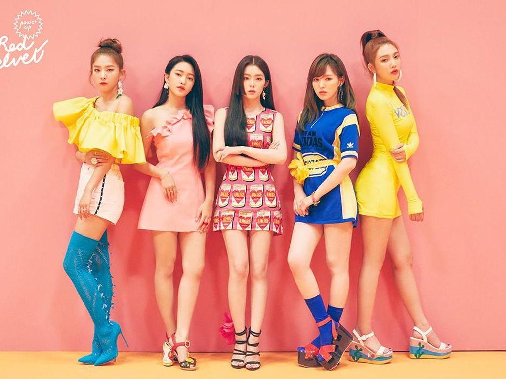 Foto Before-After Personel Red Velvet yang Sering Dikira Operasi Plastik
