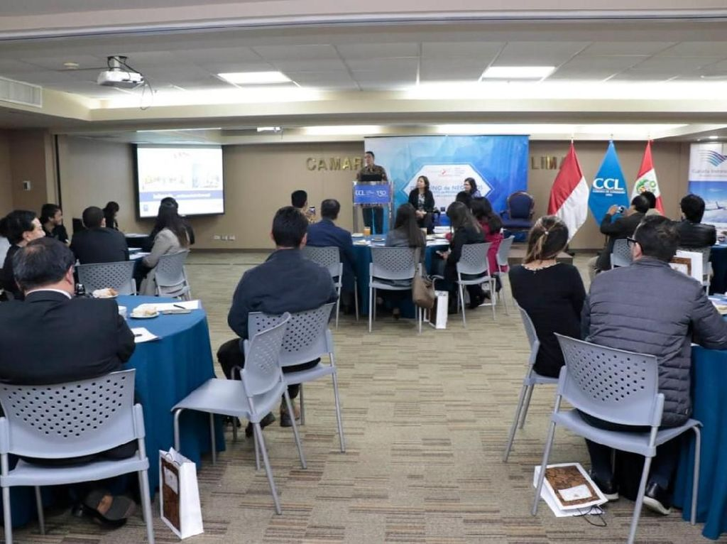 Antusiasme Pengusaha Peru dalam Acara Breakfast Meeting KBRI Lima