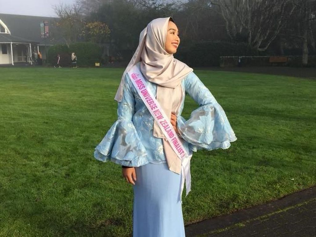 Hijabers Berdarah Indonesia Jadi Top 5 Miss Universe New Zealand