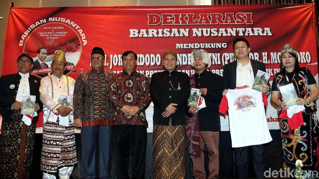 Deklarasi Barisan Nusantara Dukung Jokowi-Moeldoko di Pilpres 2019