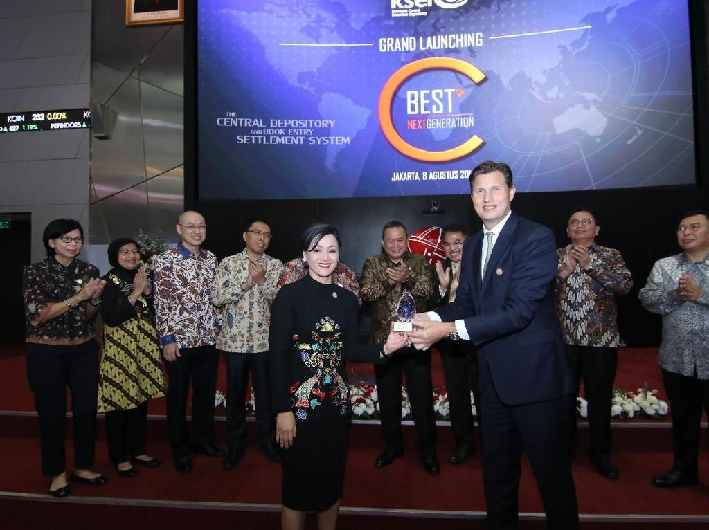 KSEI Luncurkan C-Best Next G di BEI