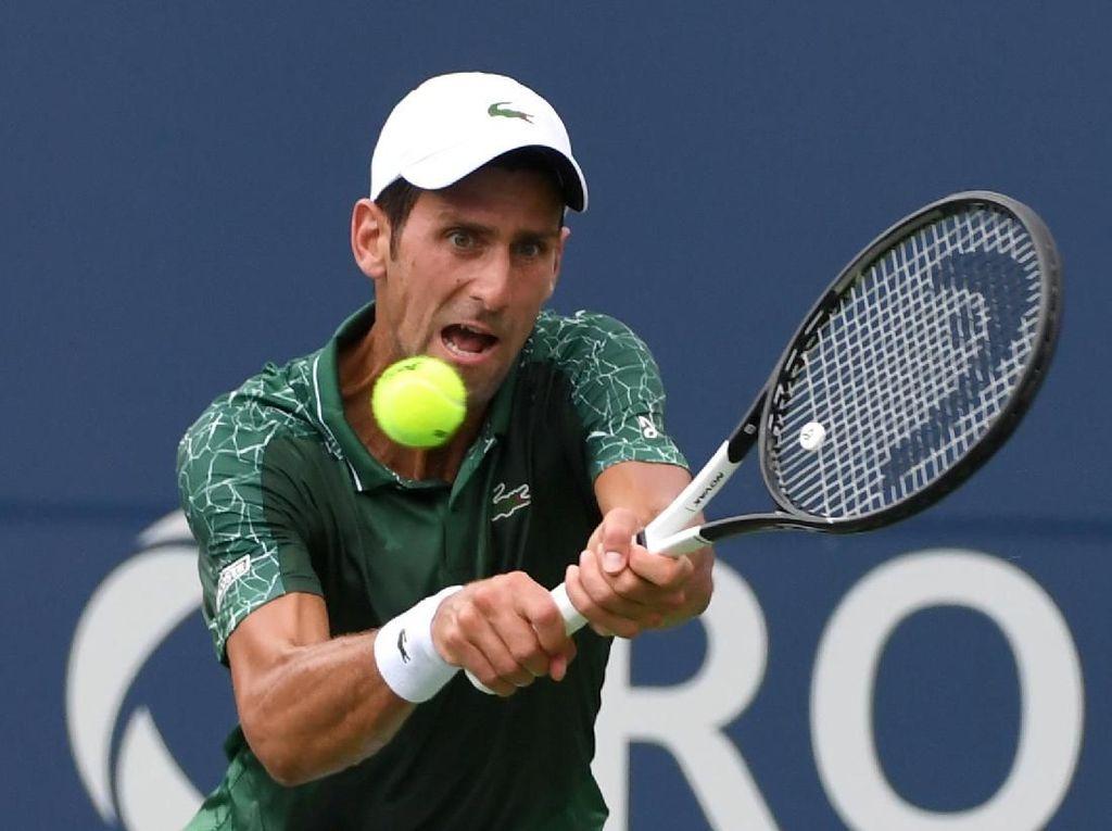 Novak Djokovic Lewati Babak Pertama Rogers Cup