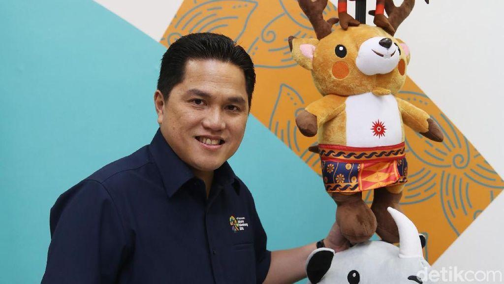 Tonton Blak-blakan Erick Thohir Jelang Asian Games 2018 Siang Ini!