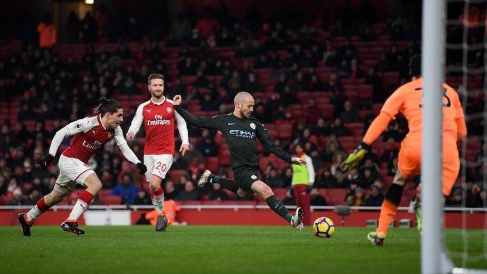 Arsenal sedang kurang oke di kandang menjelang menjamu Manchester City di Liga Inggris. (Foto: Shaun Botterill/Getty Images)
