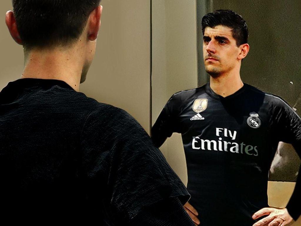 Meme-Meme Rumor Thibaut Courtois ke Real Madrid