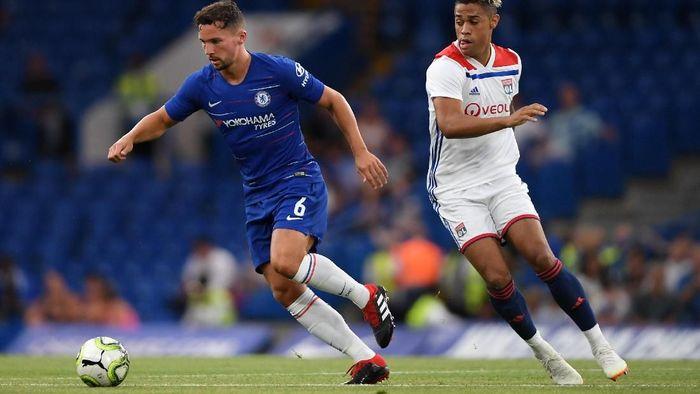 Chelsea mengalahkan Lyon lewat adu penalti di ajang International Champions Cup 2018. (Foto: Mike Hewitt/Getty Images)