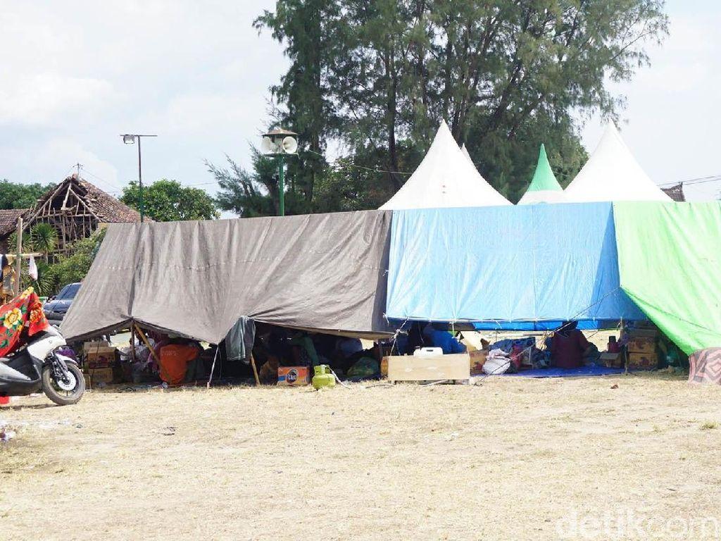 Trauma, Korban Gempa Lombok Mengaku Ngeri Lihat Rumah
