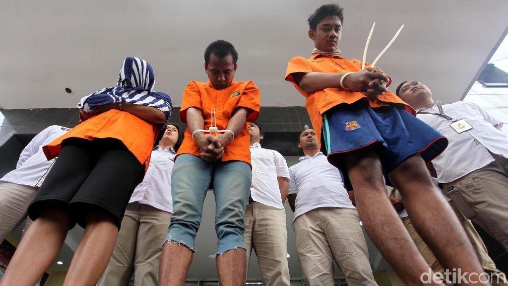 Tampang Tiga Mucikari Prostitusi Anak di Kalibata City