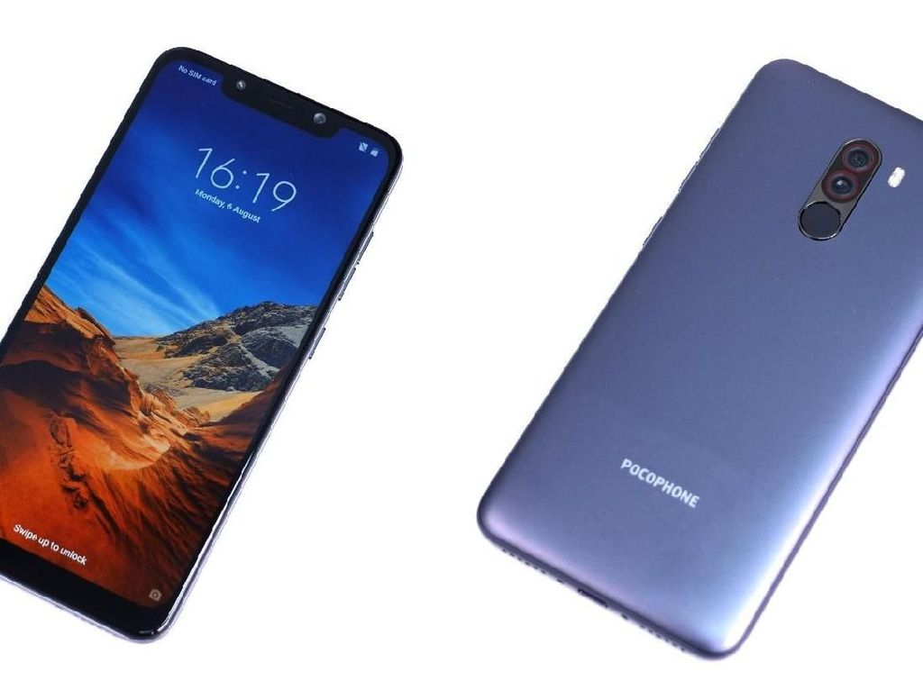 Penampakan Nyata Xiaomi Pocophone F1
