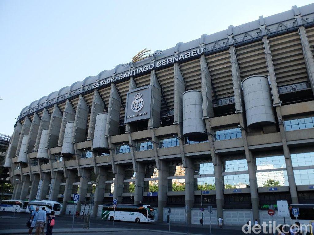Stadion Santiago Bernabeu, yang Bukan Fans Bola Pun Terpesona
