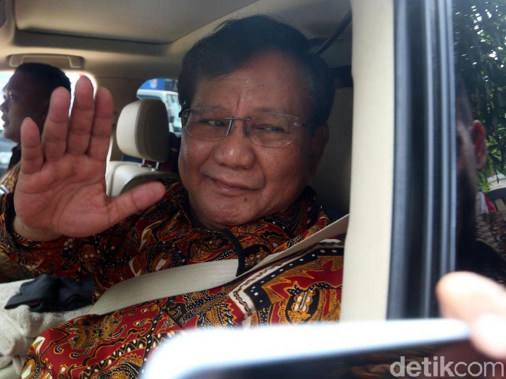Prabowo Temui SBY Bahas Cawapres