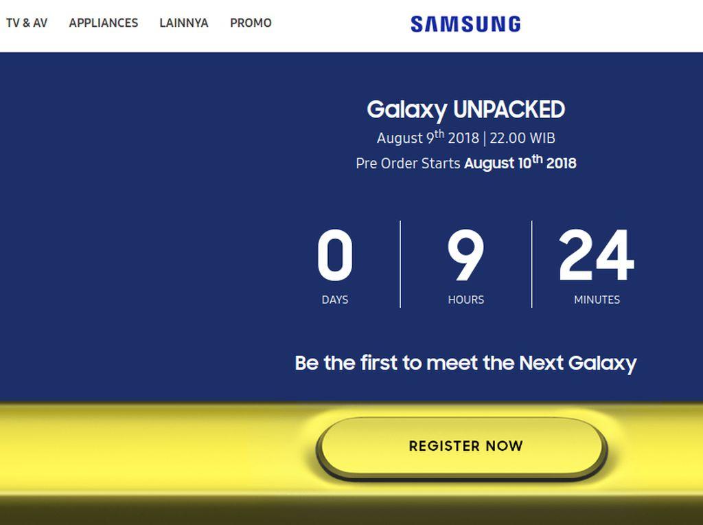 Begini Cara Nonton Peluncuran Galaxy Note 9