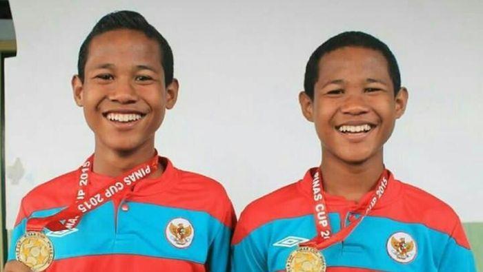 Bagus Kahfi-Bagas Kaffa, dulu jadi striker kembar tapi kini memainkan posisi beda di timnas U-16 (Foto: Dok: Istimewa)