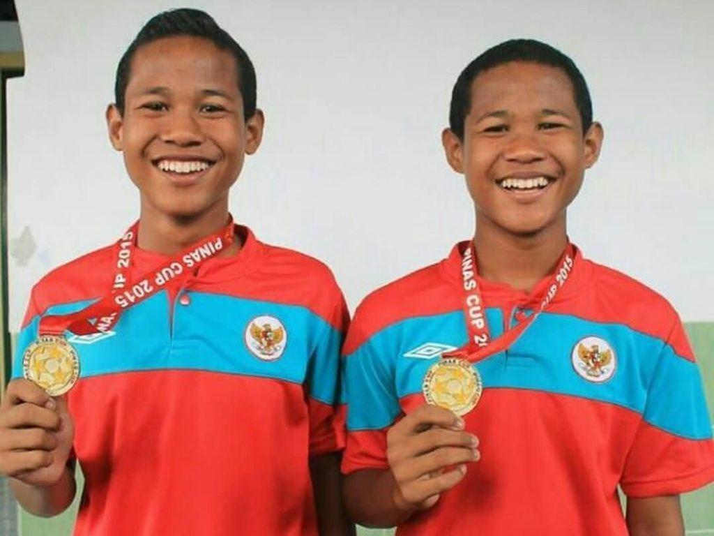 Bagus Kahfi-Bagas Kaffa Dulu Striker Kembar, di Timnas U-16 Beda Posisi