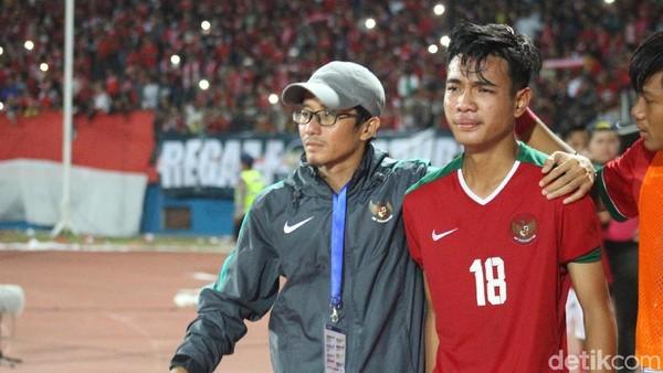 Brylian Persembahkan Kemenangan Timnas U-16 untuk Mendiang Sang Ibu