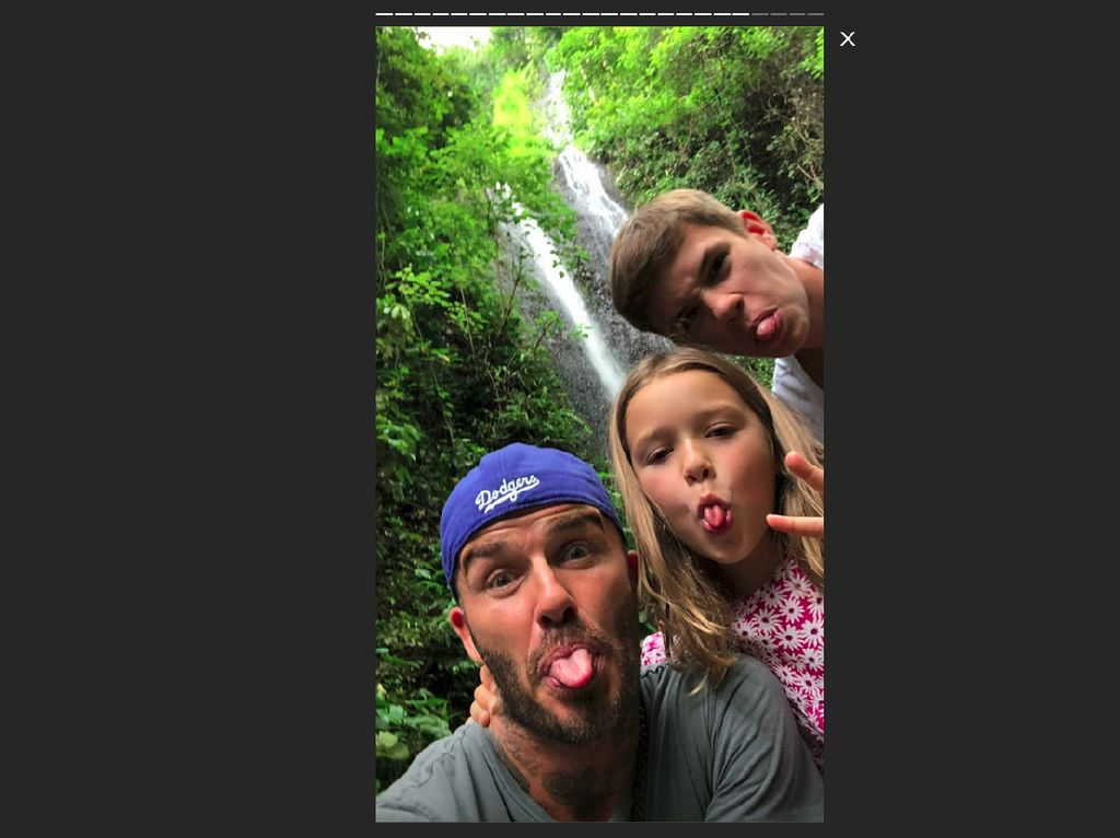 Dari Bali, David Beckham Lanjut Liburan ke Sumba