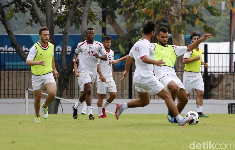 Timnas Palestina Jalani Sesi Latihan Jelang Asian Games