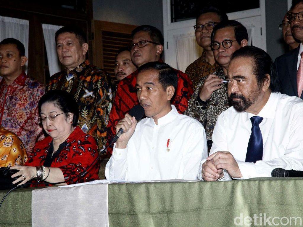 Kisah 2 Poros dan Perang Dingin Megawati-Surya Paloh