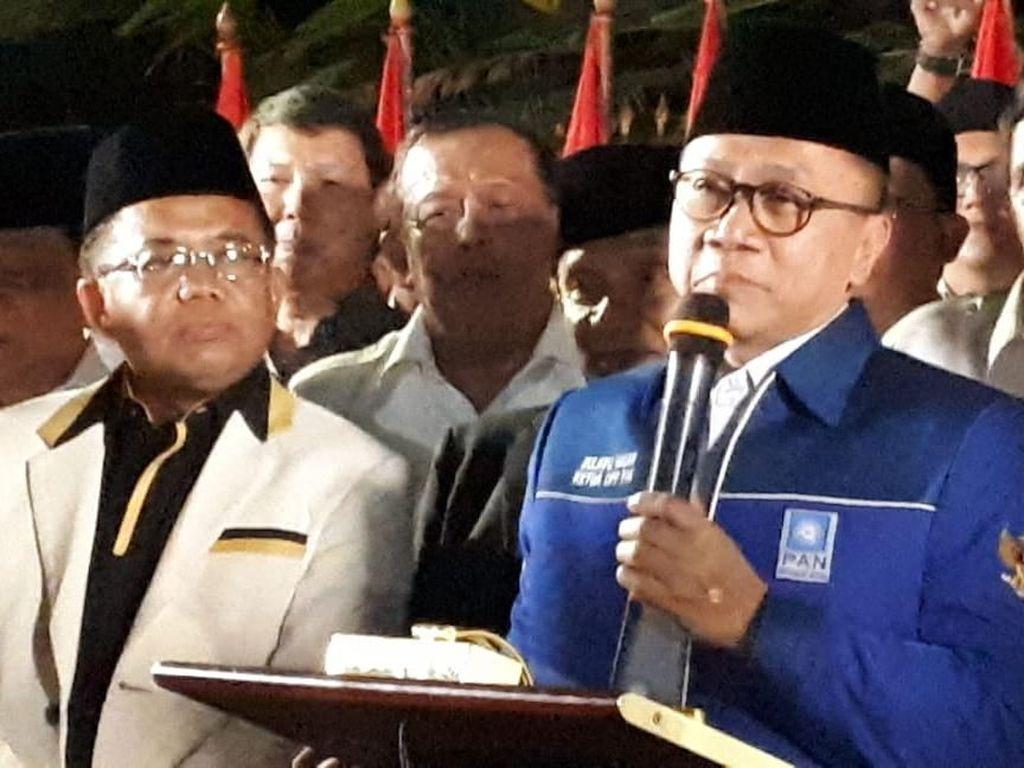 PAN Dorong Zulkifli Hasan Jadi Ketua Timses Prabowo-Sandiaga