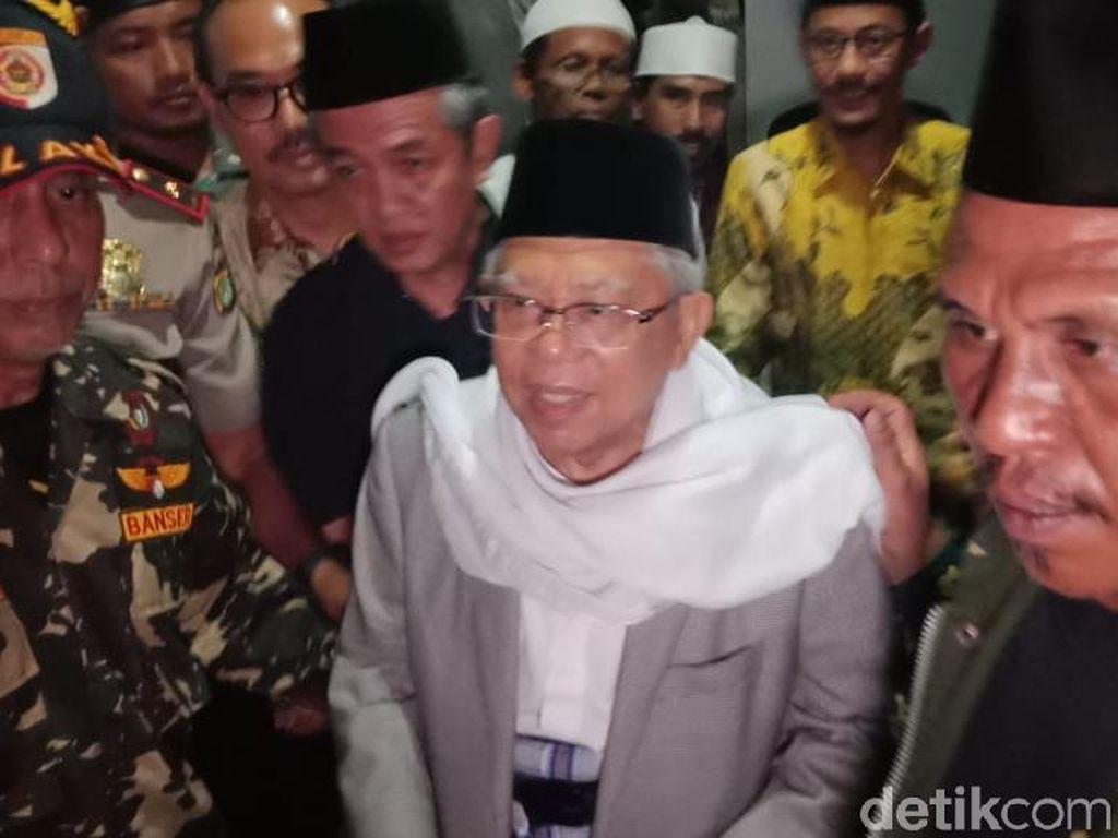 Kaget, Maruf Amin Terima Kabar Jadi Cawapres Bakda Asar