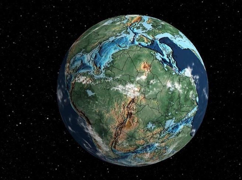 Potret Evolusi Bumi dari Masa ke Masa