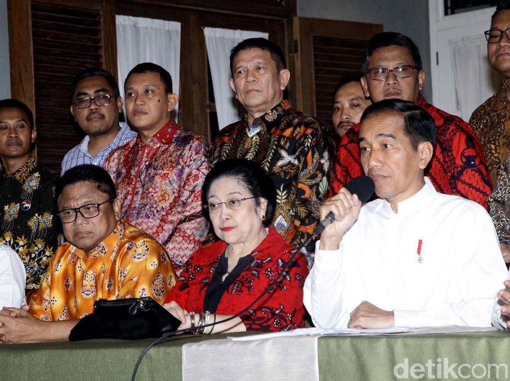 Usai Umumkan Maruf Amin Cawapres, Jokowi ke Istana