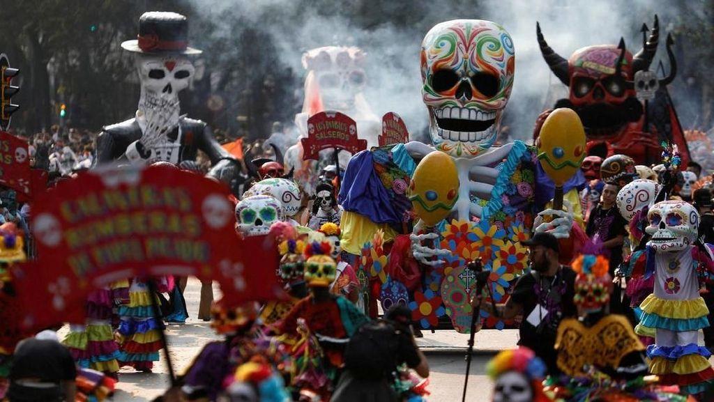 Foto: Festival Kematian di Meksiko