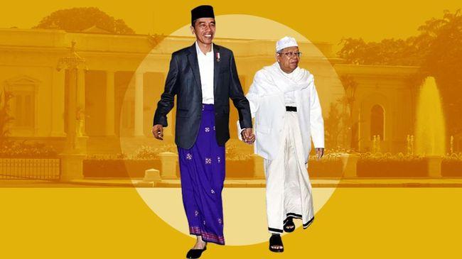 Ma'ruf Amin: Tanpa Cak Imin, Saya Tak Jadi Cawapres Jokowi