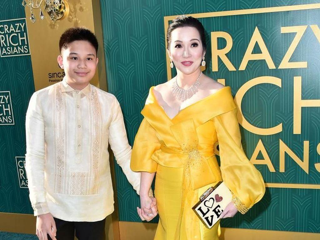 Mewah Banget, Gaya Putri Eks Presiden Filipina Pakai Perhiasaan Miliaran