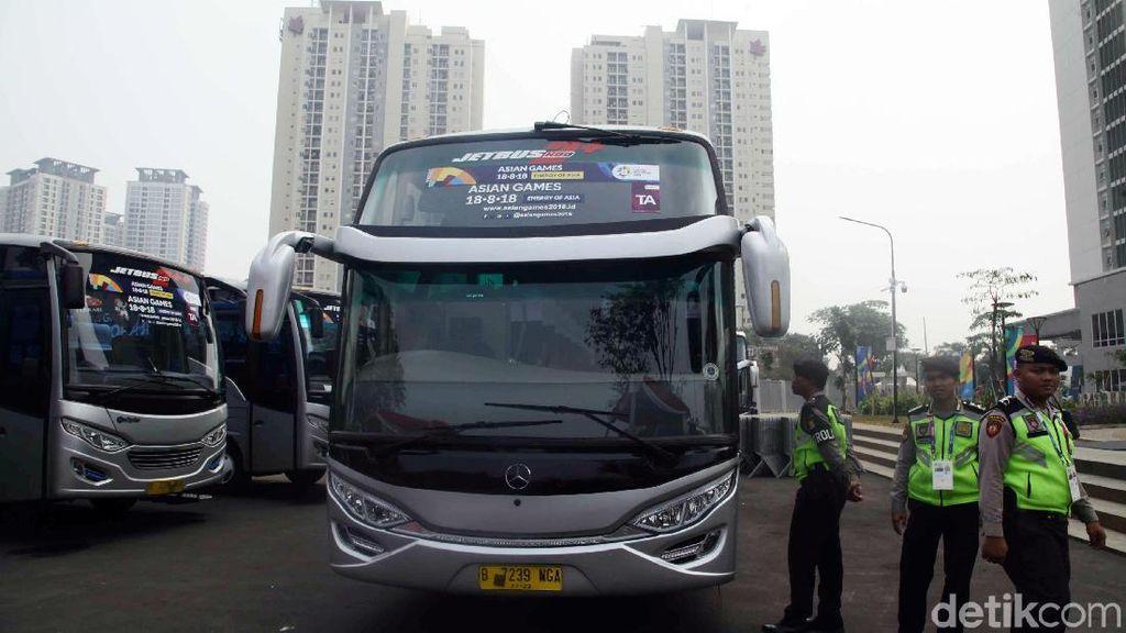 Begini Penampakan Bus Buat Atlet Asian Games 2018