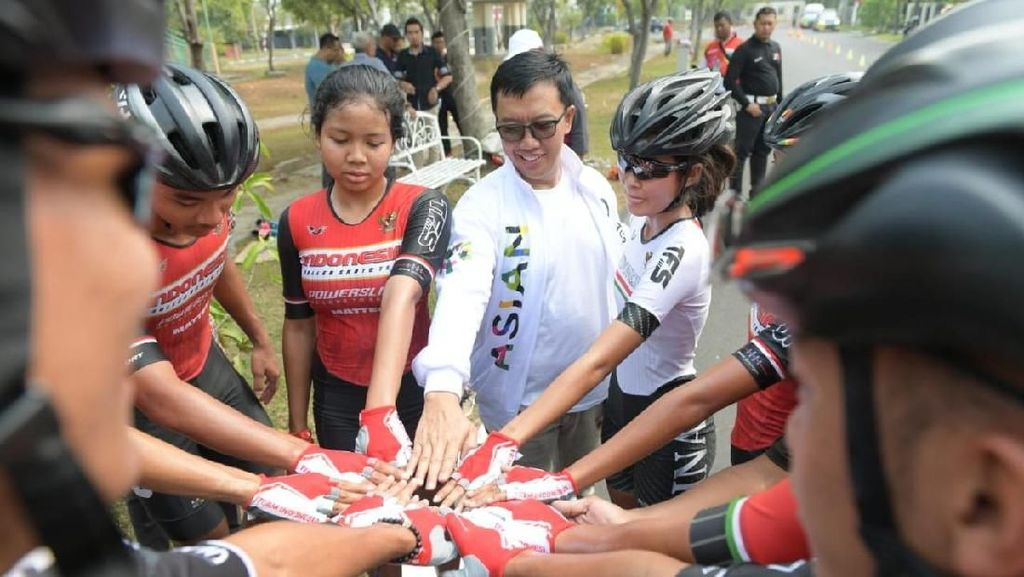 Menpora Harap Cuaca di Palembang Untungkan Atlet Sepatu Roda
