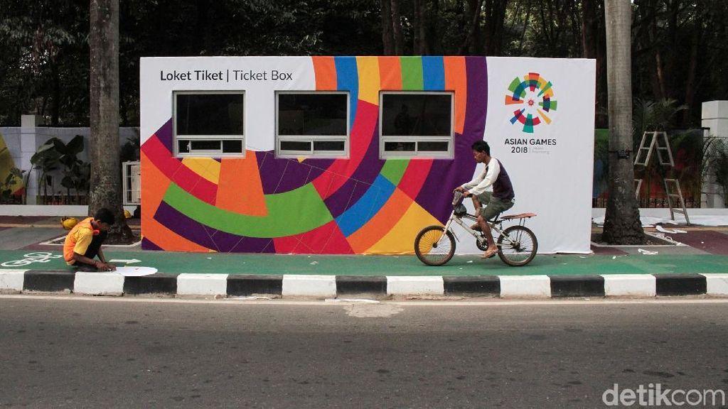 Begini Prosedur Penukaran Tiket Opening Ceremony Asian Games 2018