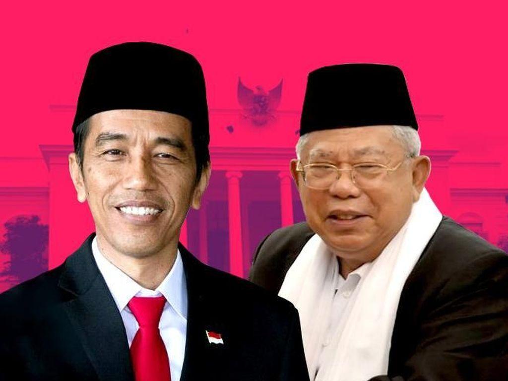 Surprise! Netizen Terkejut Maruf Amin Jadi Cawapres Jokowi