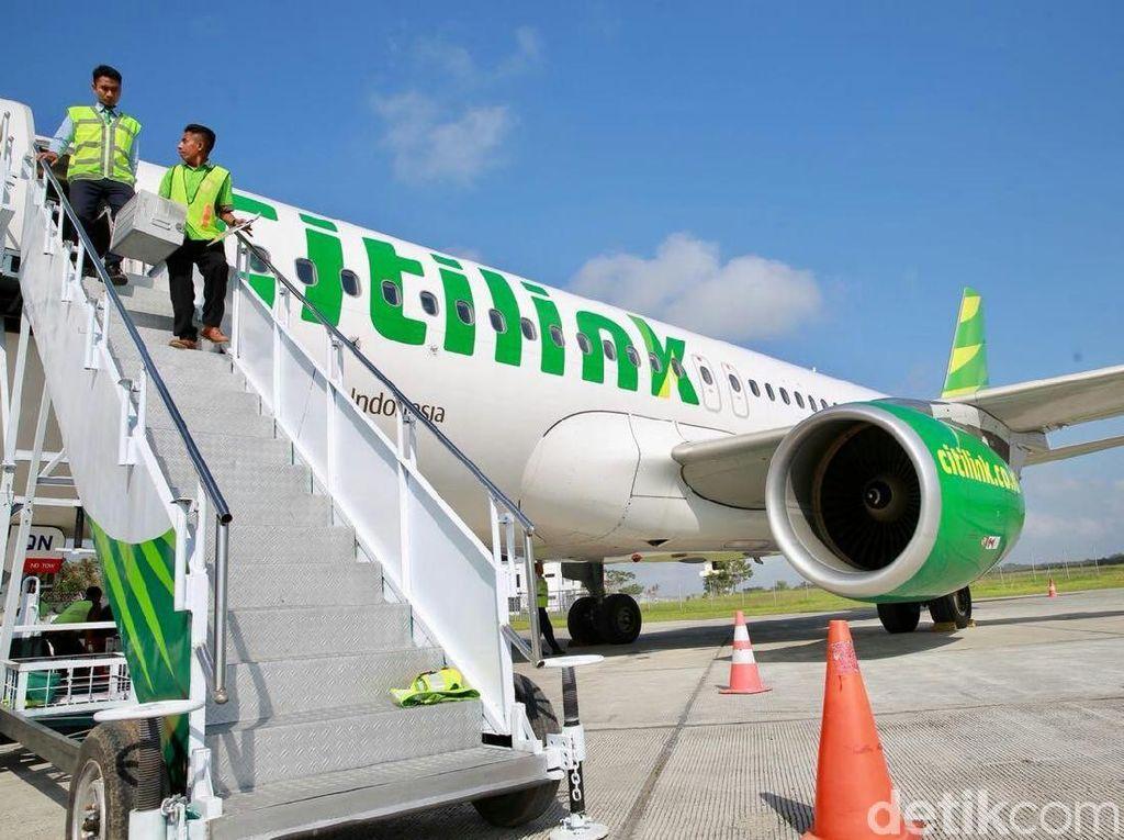 Ini Tahapan Perawatan Pesawat Citilink Sebelum Diterbangkan