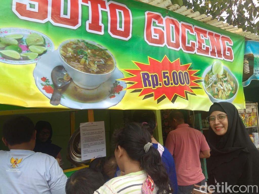 Tak Patok Harga ke Pembeli, Penjual Soto Goceng Rugi atau Untung?