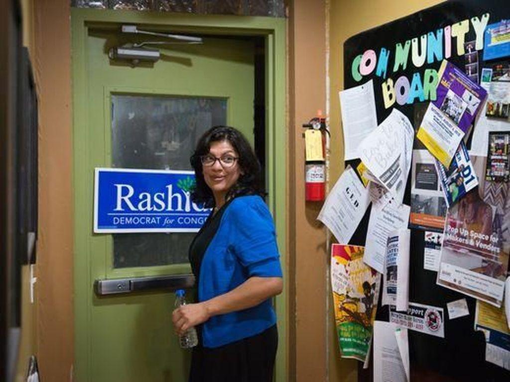 Sosok Rashida Tlaib, Wanita Muslim Pertama di Kongres AS
