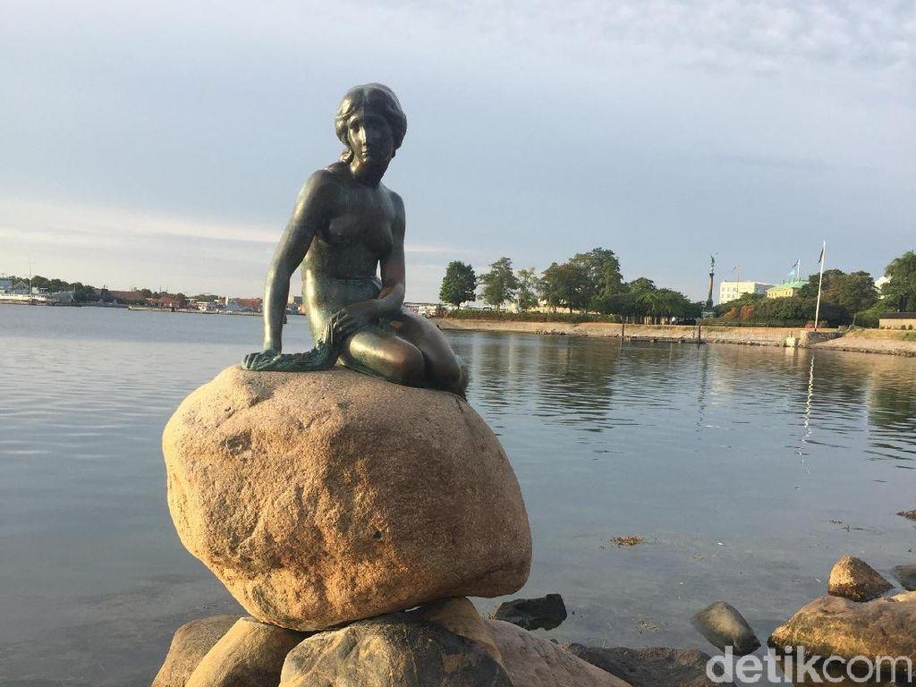 Heboh, Satu Negara Bertengkar Karena Patung Little Mermaid Jadi Dua