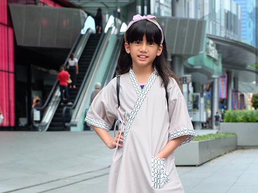 Stylish, Keseharian Talullah Malaika si Fashion Designer Cilik