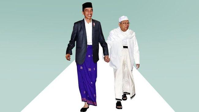 Ma'ruf Amin Sempat Minta Jokowi Istikharah Tentukan Cawapres