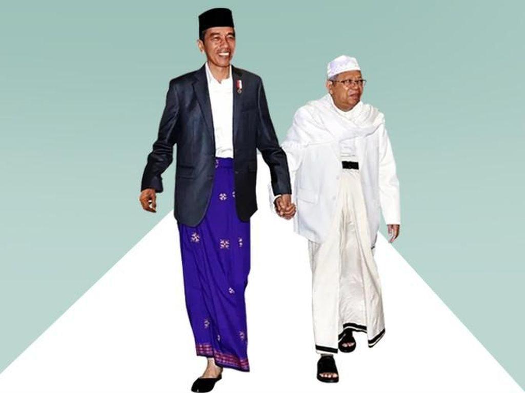 Cerita Detik-detik Jokowi Pastikan Maruf Amin Jadi Cawapres