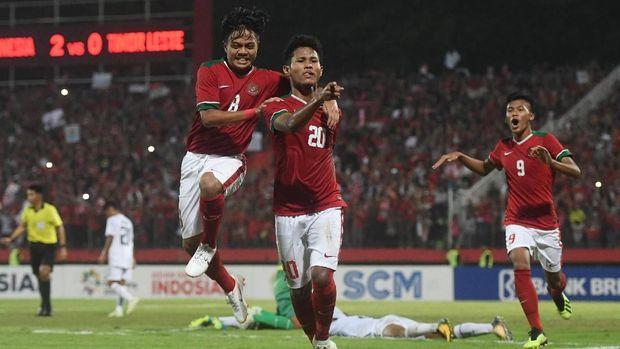 Selain partai final, Bagus Kahfi selalu mencetak gol.